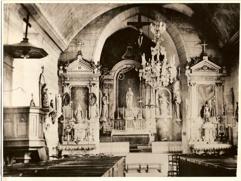 L eglise de Montfort sur Risle debut 1950