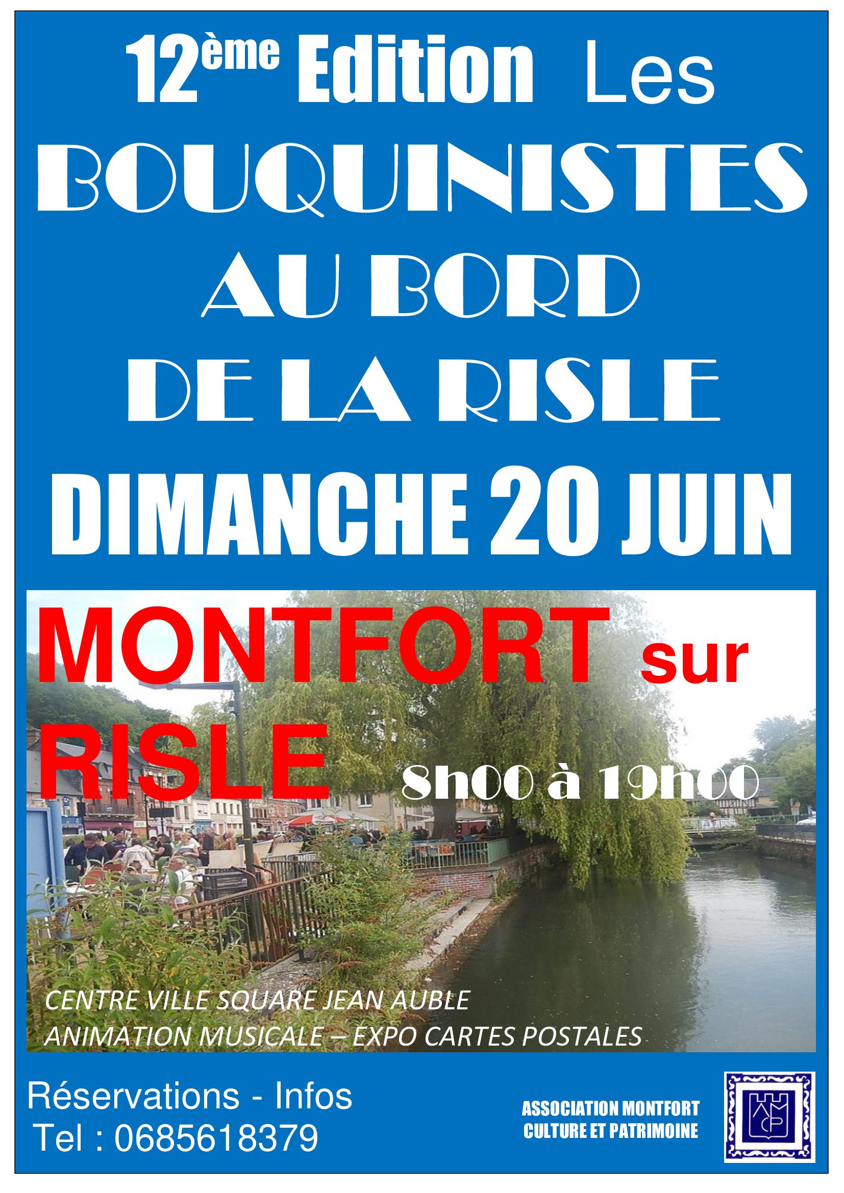 Flyer Bouquinistes