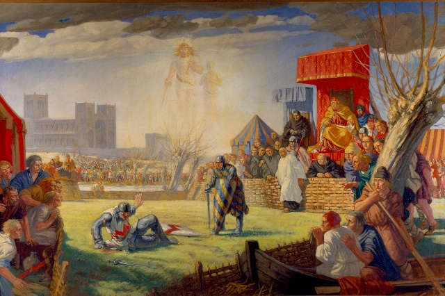 combat de Robert de Montfort et Essex a Reading 2