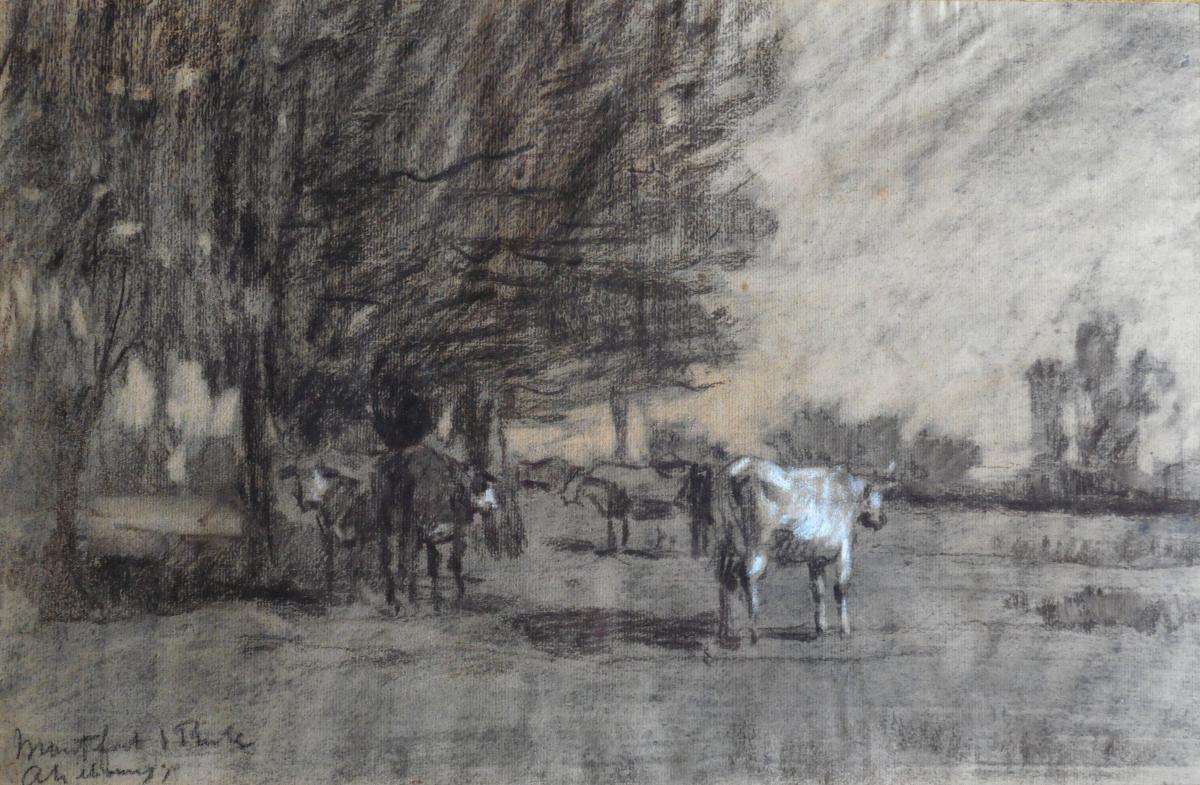 A.Lebourg dessin situe a Montfort sur Risle