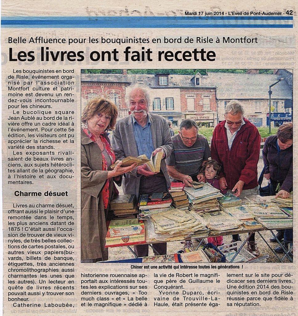 Article Bouquinistes