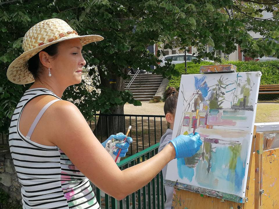 peintres dans la rue 2