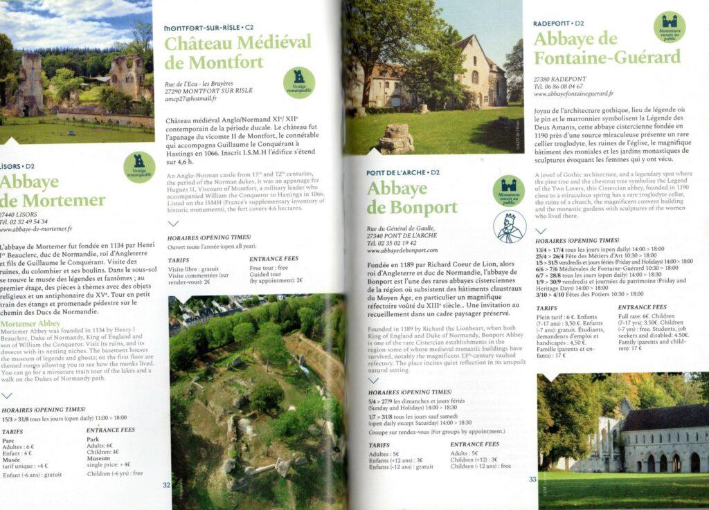 Chateau brochure