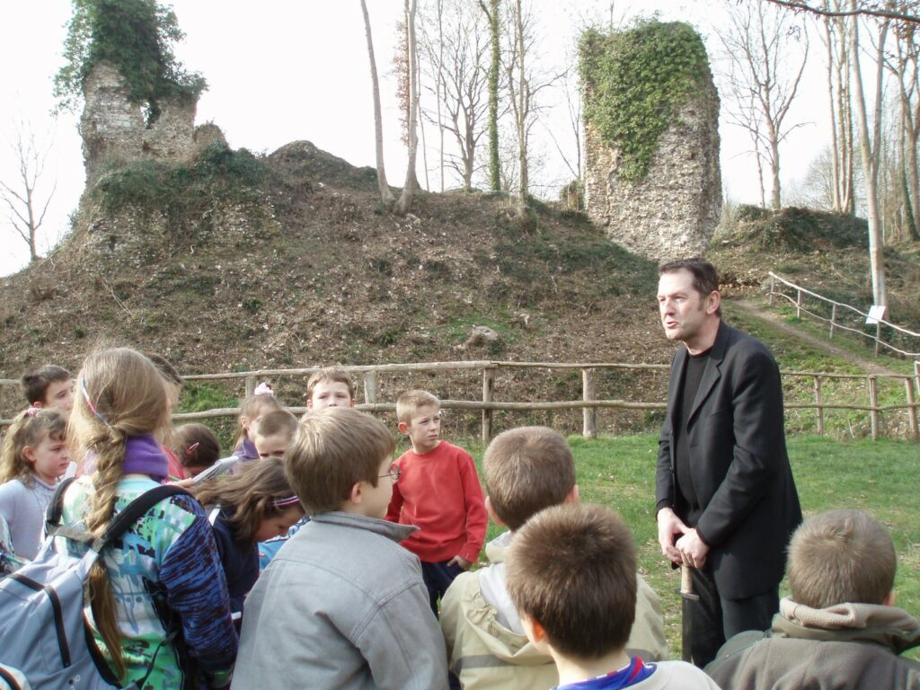 groupe scolaire St Philbert visite chateau